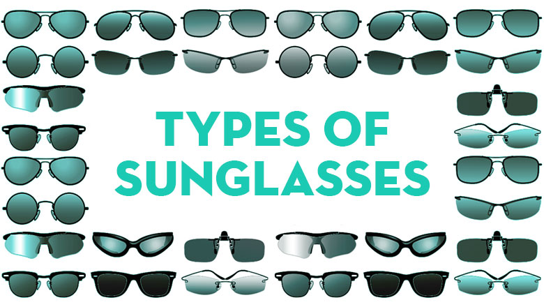different types of sunglasses styles for different face shapes for men and women