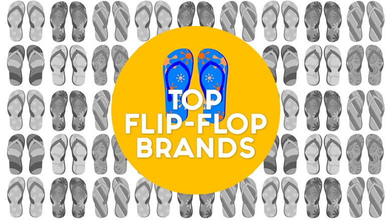 Top brands to buy flipflops in india