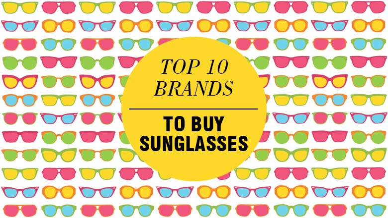 Top popular Sunglasses Brands in india for eye protection, goggles brands list