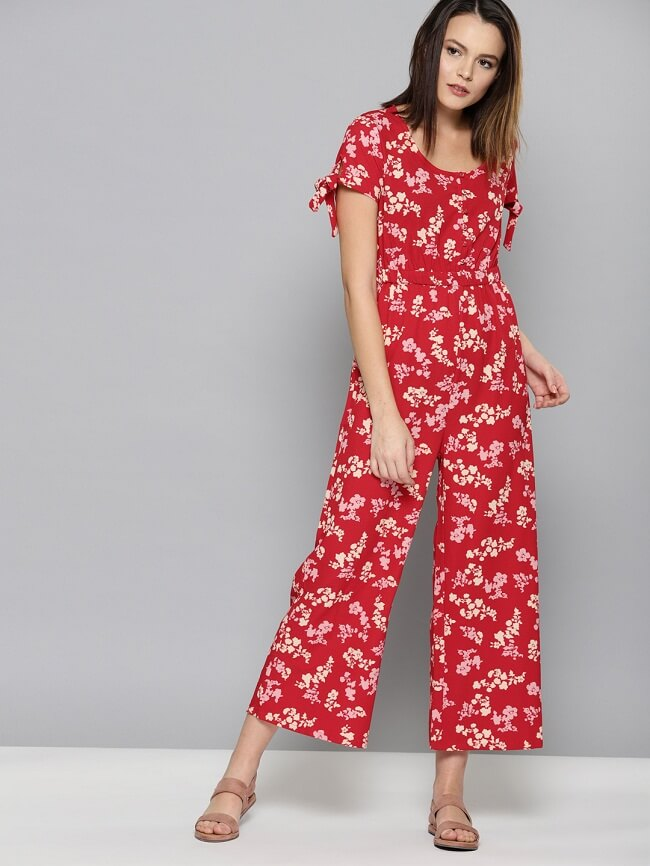 plus size jumpsuit with sleeves