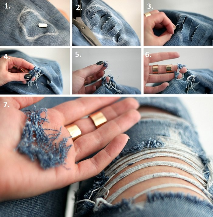 Rip your Jeans
