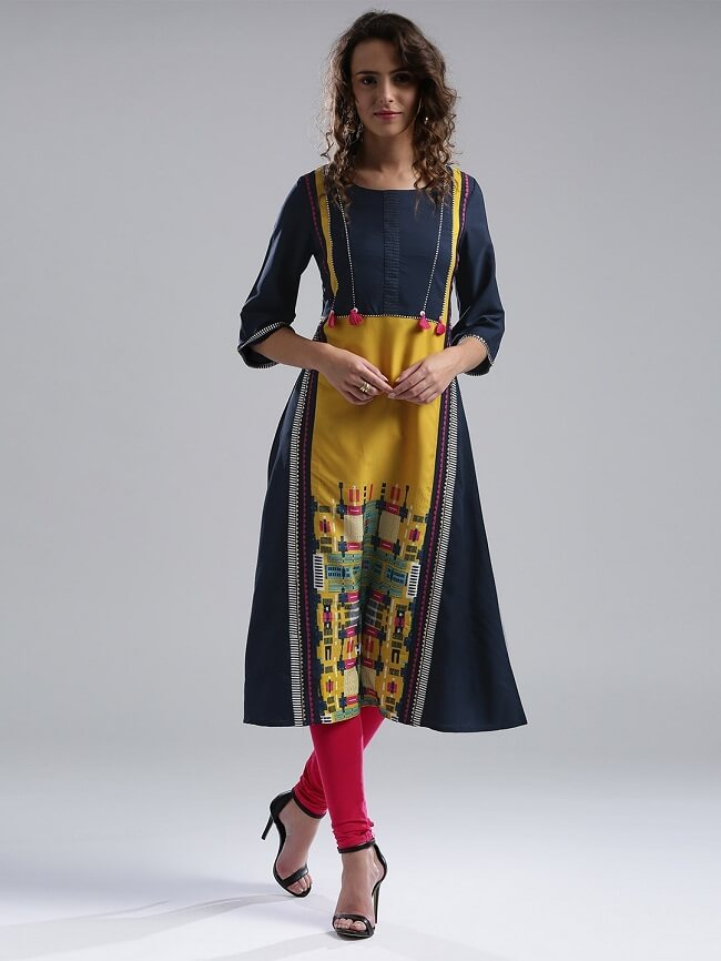 women's kurtis brands list india