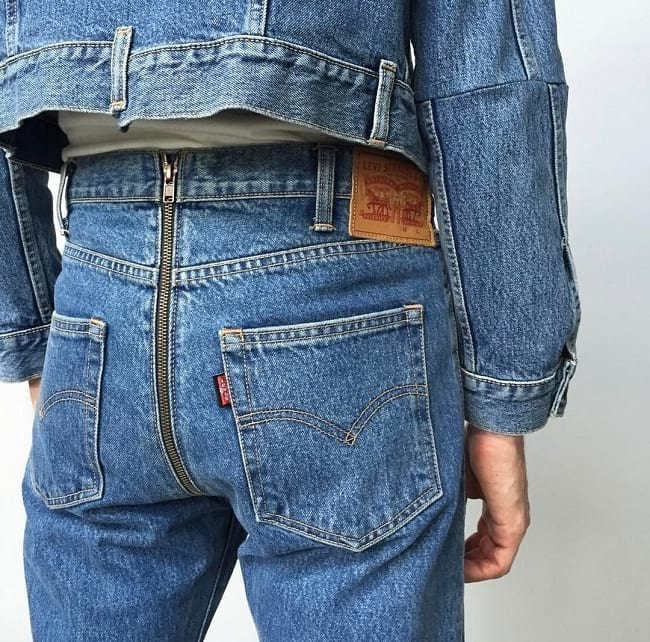 things you won't believe like a levis bare butt jeans where you can unzip and pop a poop squat.