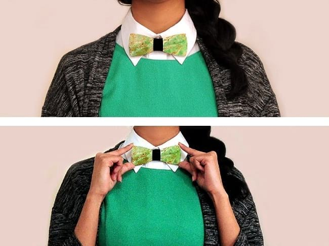 things you won't believe like real gemstone bow-tie