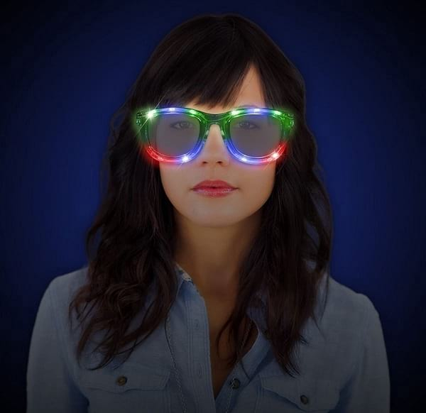 Light Up Your Eyes in Night Parties with LED Sunglasses