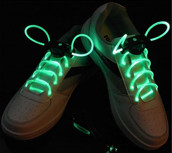Lace up your Shoes with LED Flash Light