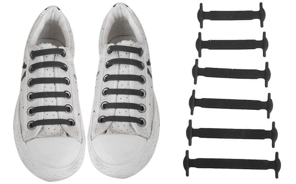 Silicone Flat Shoelace - No Need to Tie Laces
