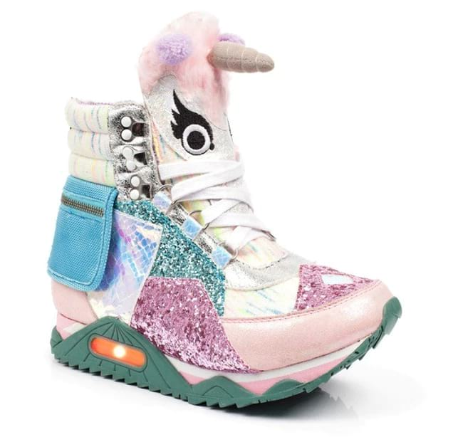 creativity at its best in the form of unicorn design sneakers