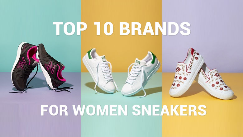 Best Sneaker Brands for women to buy online in india