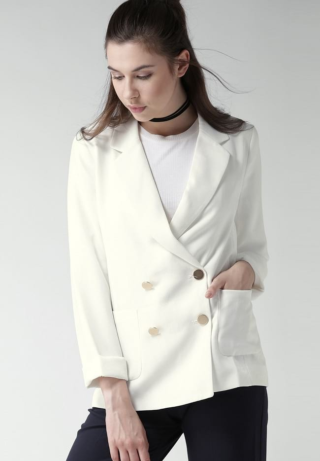 Double Breasted Blazer jacket for women to buy online