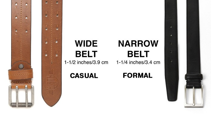 Formal Vs Casual Belts