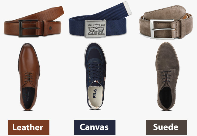 How to match belt with shoes? Thumb rules to match colour and fabric