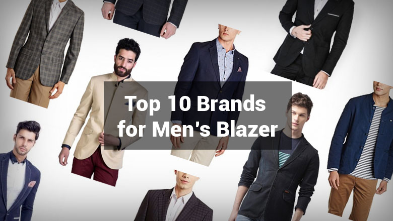 Best Blazer Brands for Men to Buy Online in India