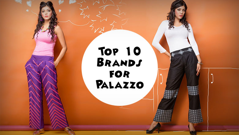 Top palazzo pants brands to buy online in india
