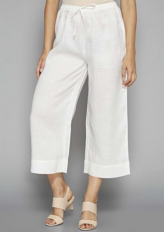 tips on how and when to wear palazzo, palazzo trousers sewing pattern