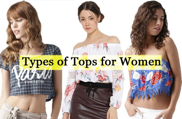 types of top for women