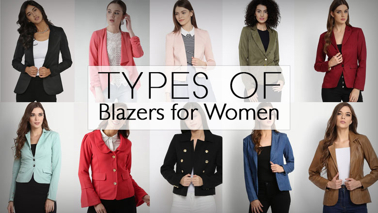 latest different Types of Blazers jackets designs for Women