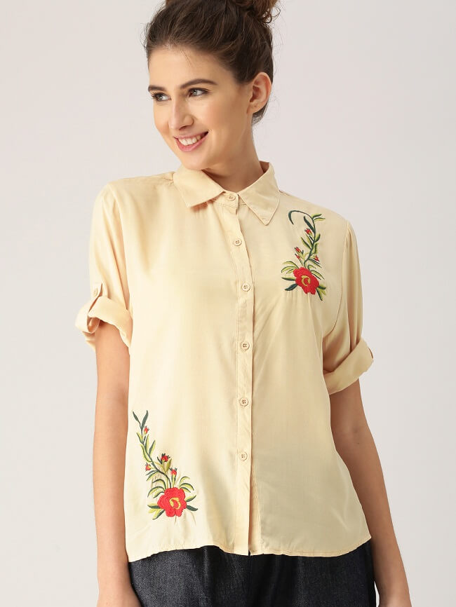 latest designer tops collection