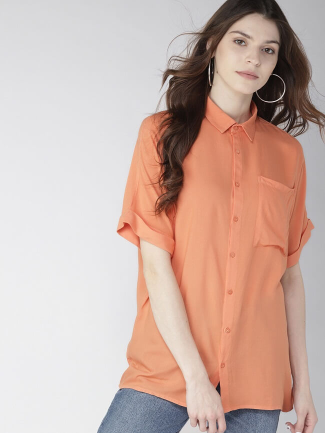 casual shirts for womens in india