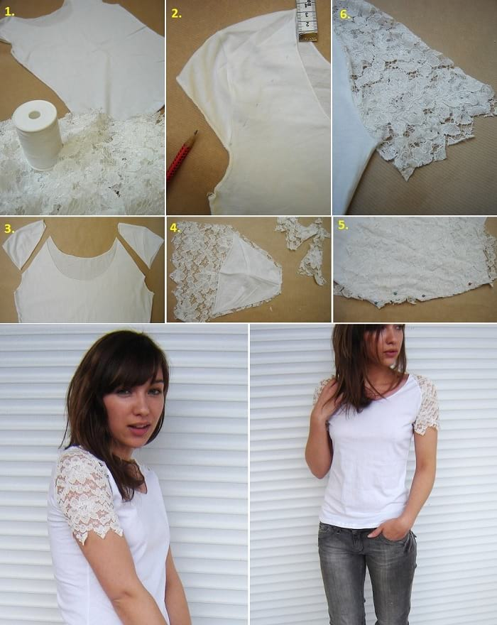 things to do with lace trim