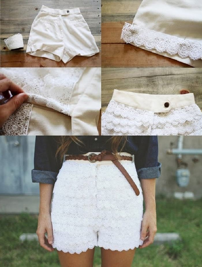 what to do with lace fabric