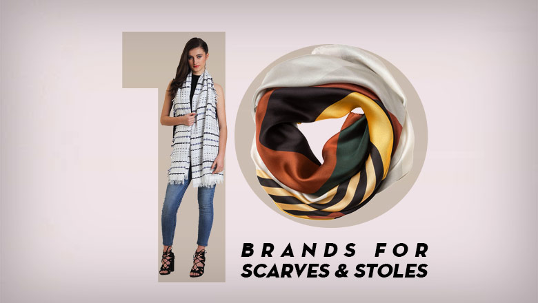 best Brands to Buy Scarves and Stoles Online in India