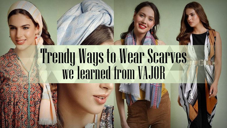 How to wear a scarf around neck, how to tie a long scarf