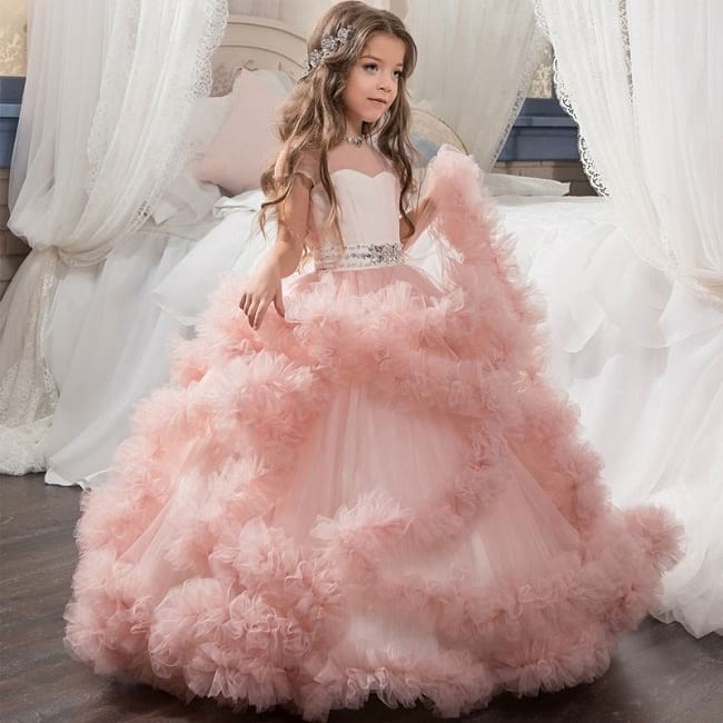 20 best girls 39 party wear frocks dresses designs for for Wedding dresses for young girls