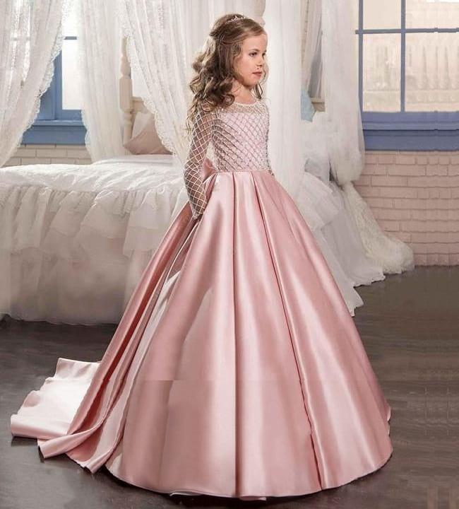 latest designs for girl's frocks and dresses, indian party wear dresses for kids