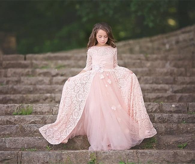 long frocks designs online for girls