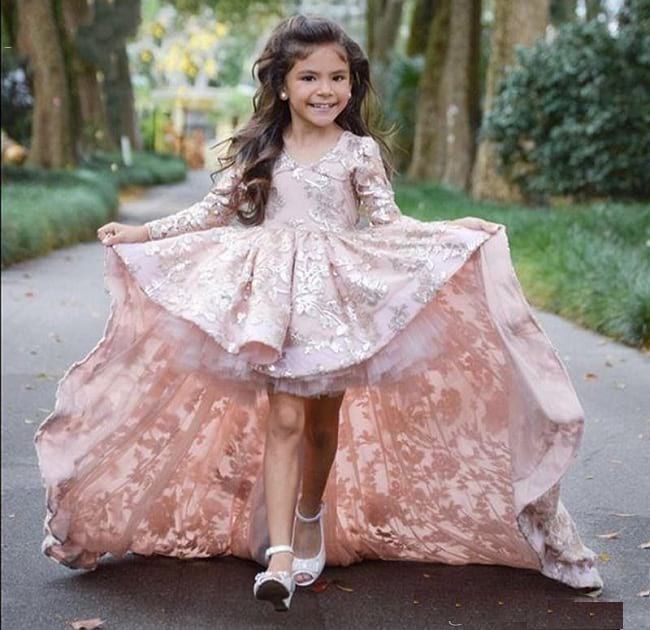 designs of party wear gowns & frocks for your princess