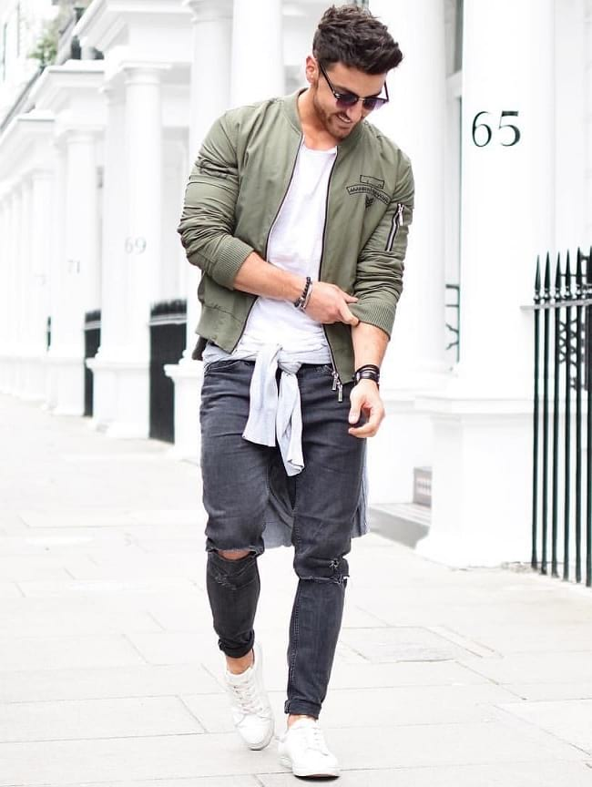 white t shirt outfit ideas for men, men styles for white tees, men's stylish clothing
