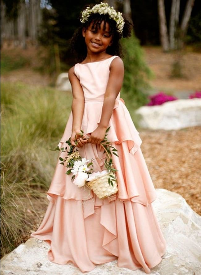frills gown wedding dresses, princess frock styles