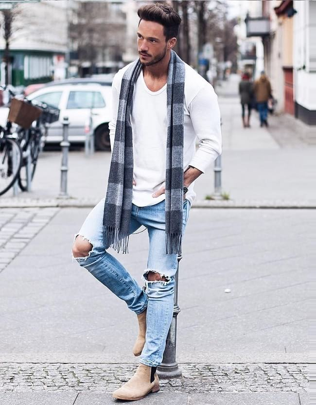 how to pair your white tees with other outfits, best casual wear for men