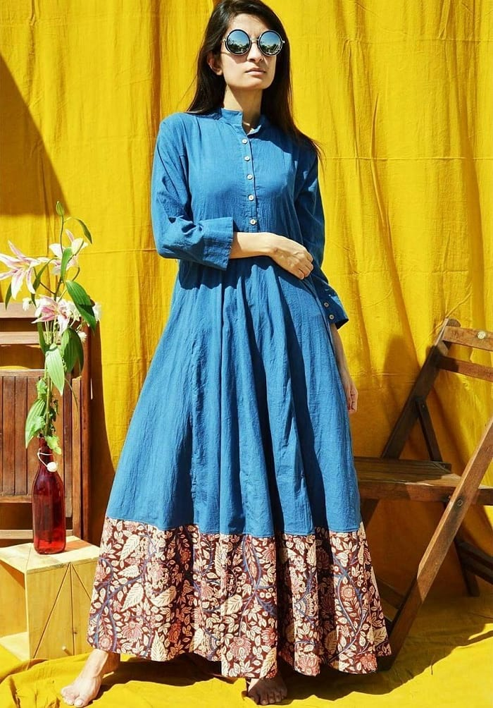 50 Long Kurti Designs For You To Be The Trendsetter Looksgud In