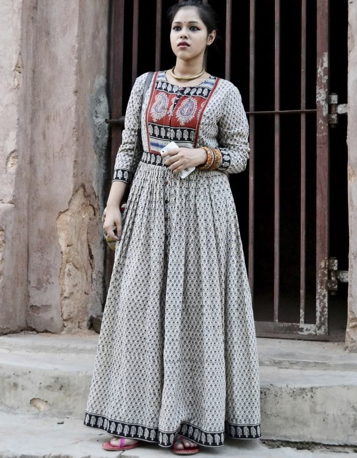4a11a3b5d3 50 Long Kurti Designs for You to be the TRENDSETTER! - LooksGud.in