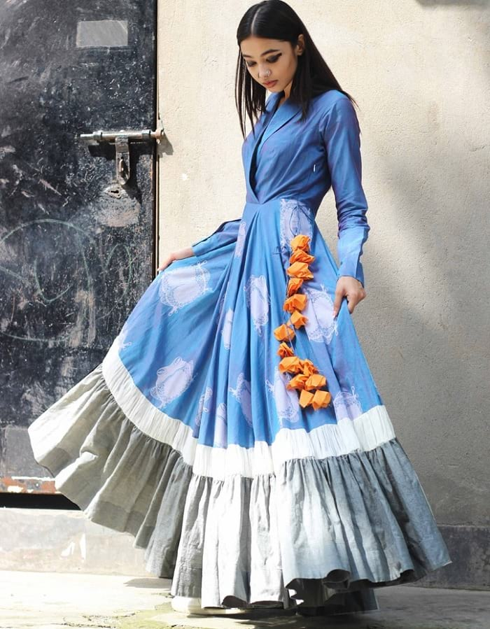 online latest long kurtis collection