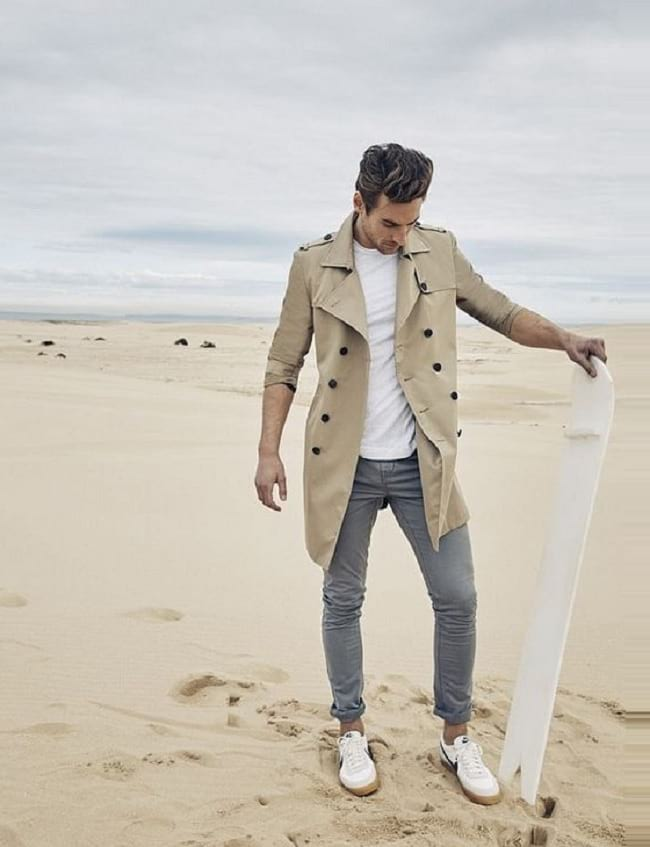 how to wear white tees with different ways to look stylish, best casual wear for men