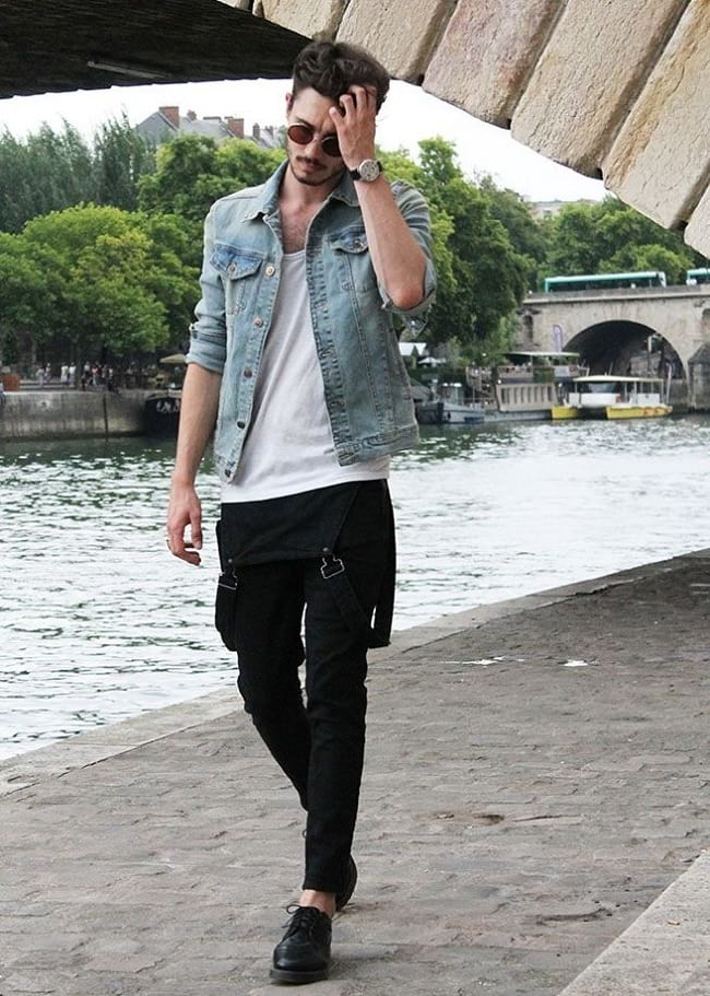 ideas to look stylish in white tees, men's party wear dresses photos
