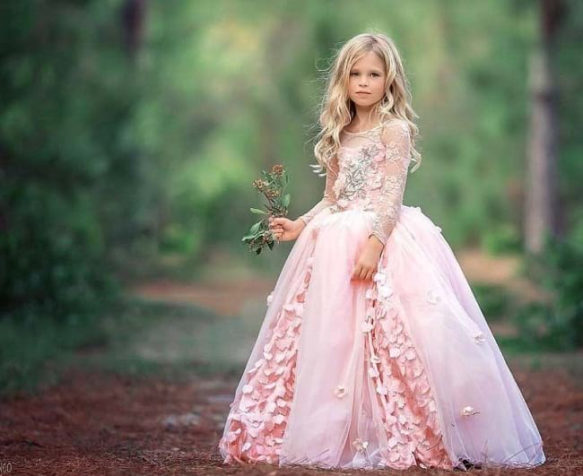 party wear dresses and frocks for girls to wear in wedding, party wear frock designs for baby girl