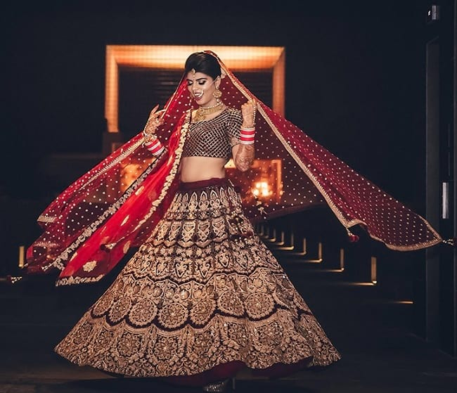 Indian Letest Wedding Designer Lehenga Online