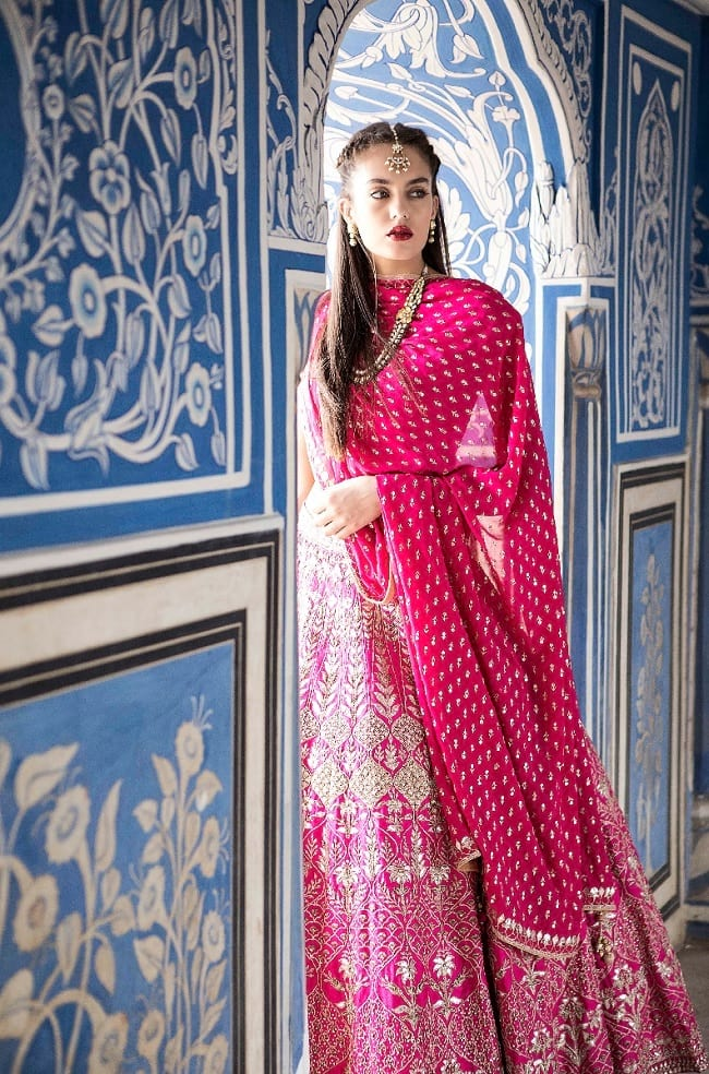 Letest Indian Trends Desinger Bridal Lehenga On Snapdeal