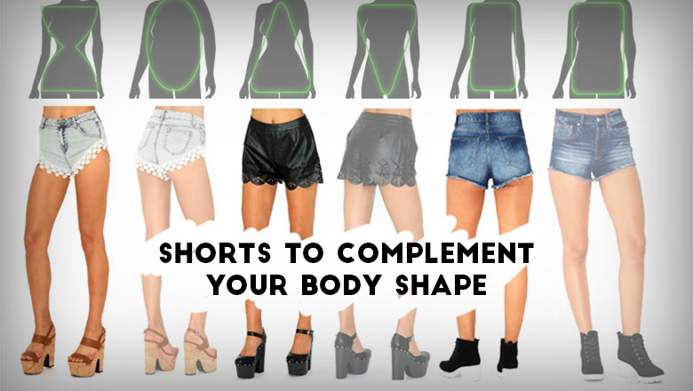 perfect women shorts according to body shape