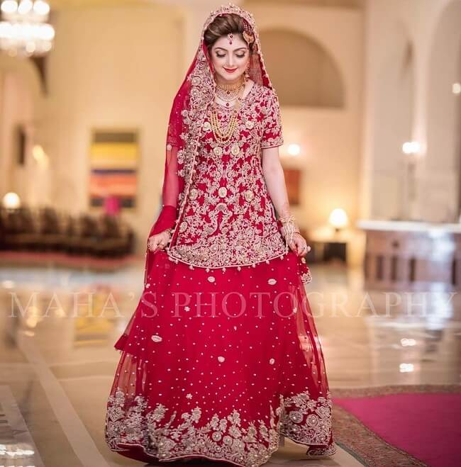 pakistani lehenga party wear