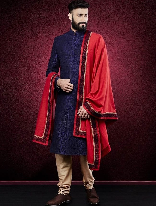 Simple Indian Wedding Sherwani