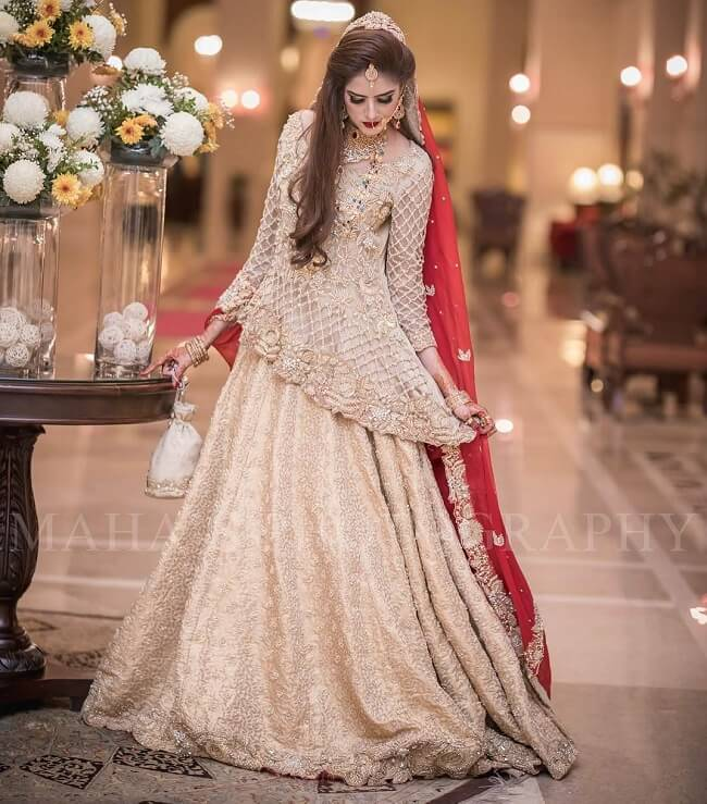 pakistani bridal lehenga with price
