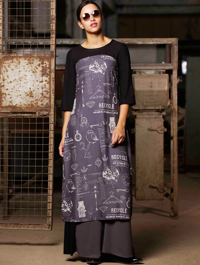 W for woman embroidered kurtis at low price online shopping