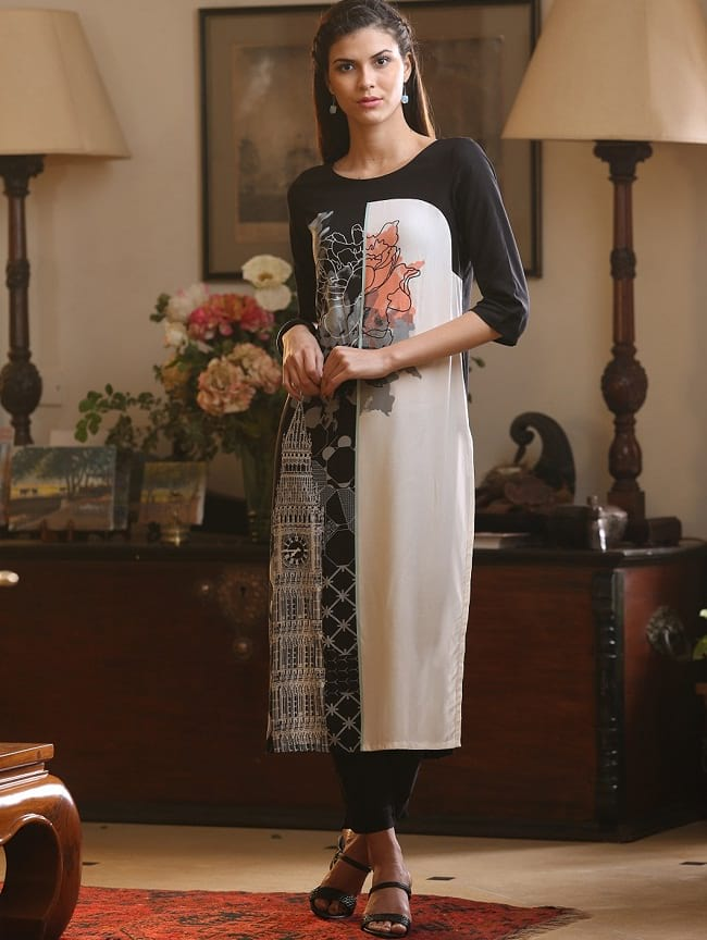 W for woman fashionable kurti designs online