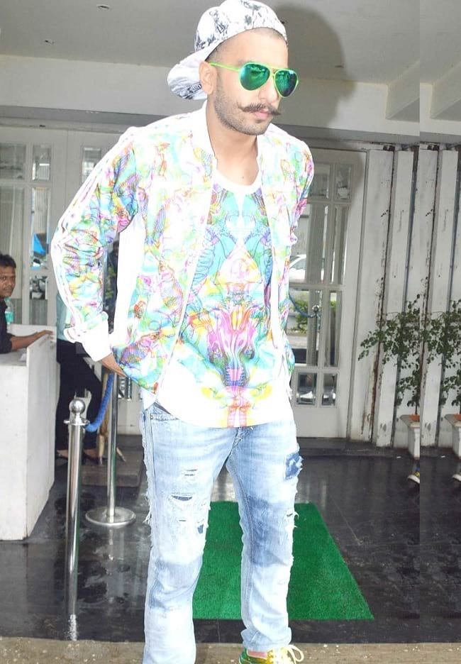 funky look of ranveer singh