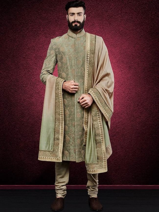 Designer Indian Wedding Sherwani for Groom